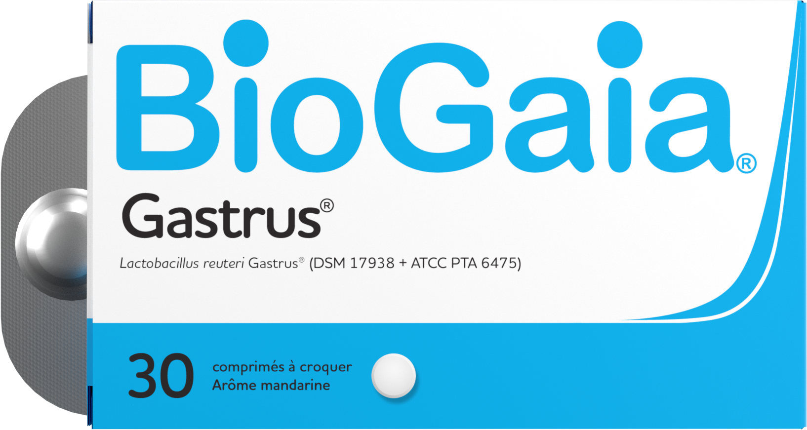 BioGaia Gastrus Tablets France