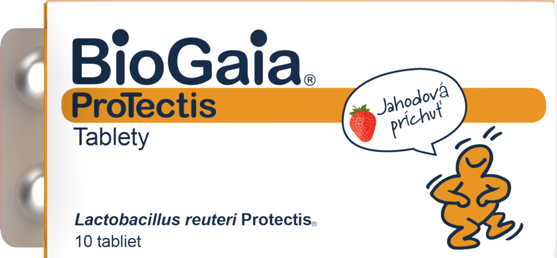 Biogaia Probiotic Tabs Strawberry Slovakia