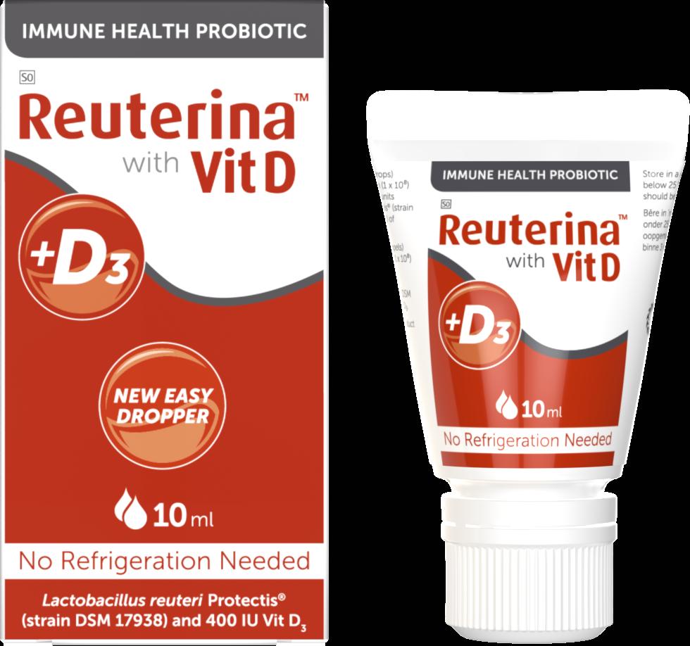 Reuterina Drops Vitd probiotic
