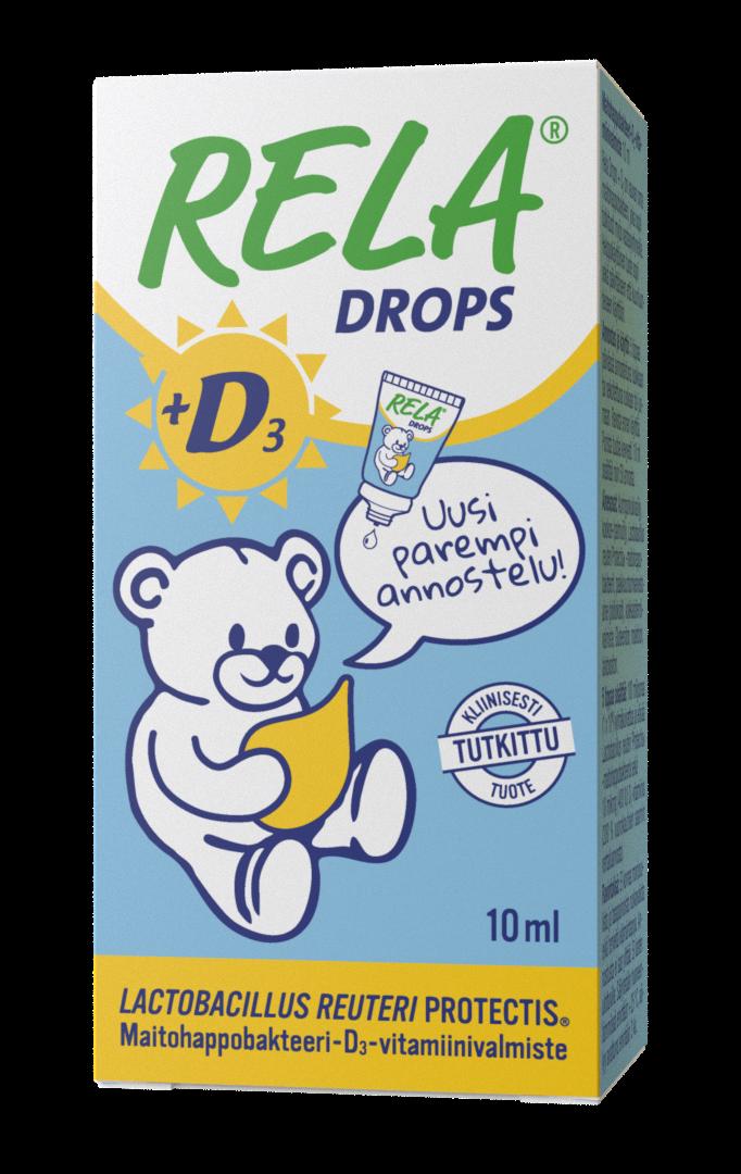 Rela D3 Drops Biogaia