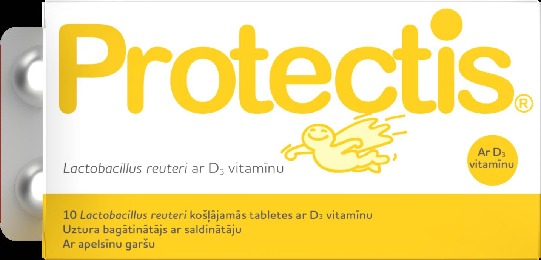 Biogaia Probiotic Tabs Vitamind Latvia
