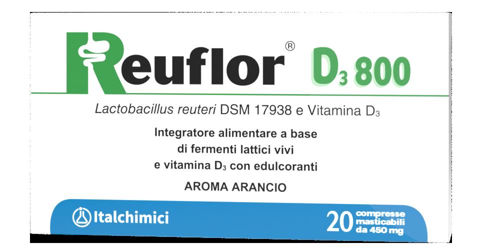 Reuflor D3 800 Lactobacillus reuteri