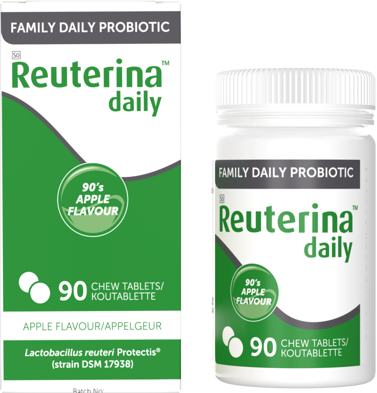 Reuterina Daily Apple probiotic