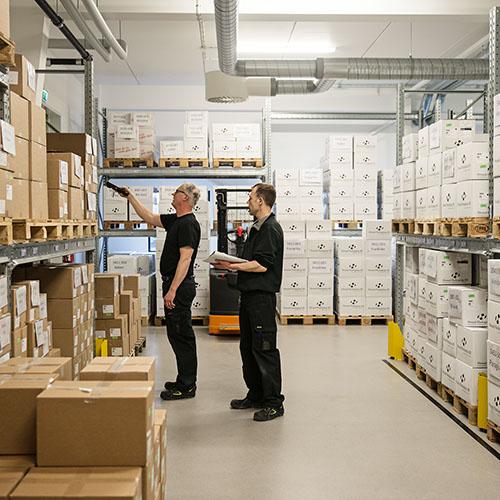 Warehouse BioGaia Production